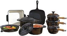 Cooks Professional 8 Piece Cast Iron Cookware Set