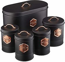 Cooks Professional Kitchen Storage Canister Set 5