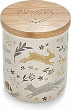 Cooksmart AC1002 Ceramic Tea Canister, Natural