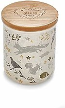 Cooksmart AC1003 Ceramic Coffee Canister, Natural