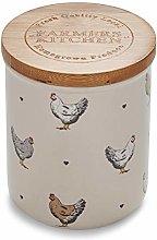 Cooksmart AC9998 Cream Ceramic Canister