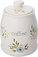 Cooksmart Country Floral Ceramic Coffee Canister