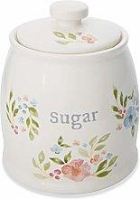 Cooksmart Country Floral, Ceramic Sugar Storage