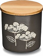 Cooksmart Retro Meadow Small Canister, Grey