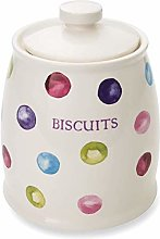 Cooksmart Spotty Dotty Airtight Ceramic Biscuit