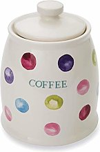 Cooksmart Spotty Dotty Coffee Canister