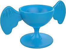 Cookut 16-Piece Bird Egg Cup, Blue
