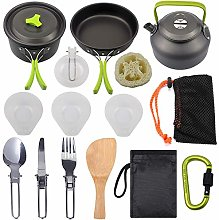 Cookware Kit for Travel Picnic Hiking Camping