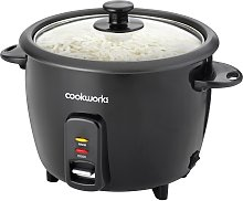 Cookworks 1.5L Rice Cooker - Black