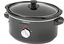 Cookworks 3.5L Slow Cooker - Black