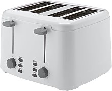 Cookworks 4 Slice Toaster - White