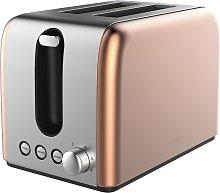 Cookworks Bullet 2 Slice Toaster - Copper
