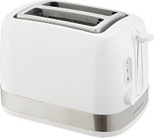 Cookworks Illuminated 2 Slice Toaster - White