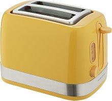 Cookworks Illuminated 2 Slice Toaster - Yellow