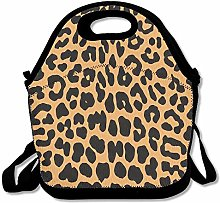 Cool Animal Leopard Print Lunch Bag Lunch Tote