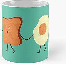 Cool Bacon Coffee Toast Egg Food Breakfast Fun Eat