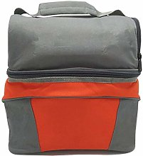 Cool Bag for Lunch Double Layers Picnic Bag Oxford