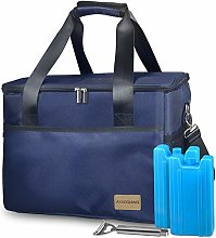 Cool Bag Large, Picnic Cooler Box 28L(48-Can) Big