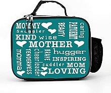 Cool Bag Loving Nice Mum Inspirational Words Lunch