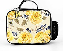 Cool Bag Plant Yellow Flowers Lunch Bag Lunch Bag