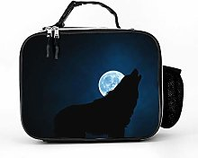 Cool Bag Wolf Silhouette Moon Night Lunch Bag