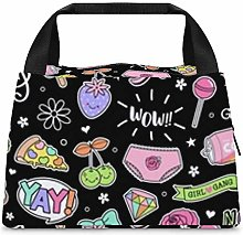 Cool Bags for Lunch, Lunch Bag Portable Storage