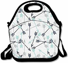 Cool Boring Arrow Lunch Bag Lunch Tote Lunch Box