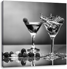 Cool Cocktails Photographic Art Print on Canvas