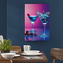 Cool Cocktails Photographic Print on Canvas East