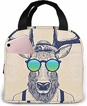 Cool Deer Insulated Lunch Bag Cooler Tote Box