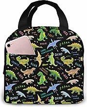 Cool Dinosaurs Roar Unisex Portable Reusable