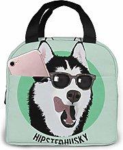 Cool Dog Cool Dog Lunch Bag Tote Bag, Waterproof