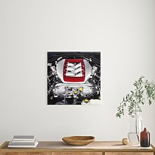 Cool Engine Block Art Print on Canvas East Urban