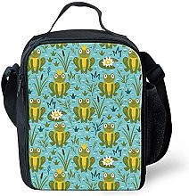 Cool Frog Animal Lunch Bag Insulated Small Lunch