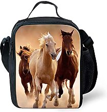 Cool Horse Lunchbox Kids Girls Boys Packed Lunch