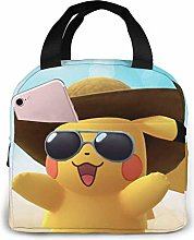 Cool Lunch Bag Cooler Tote Box with Front Pocket
