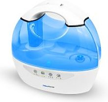 Cool Mist Humidifier Ioniser & Timer Dual Output 6