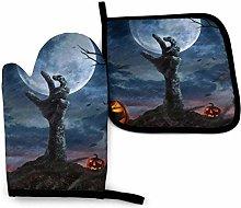 COOL-SHOW Zombie Hand Dark Halloween Night Oven