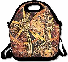 Cool Steampunk Gears Lunch Bag Lunch Tote Lunch