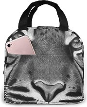Cool Tiger King Insulated Lunch Bag Cooler Tote