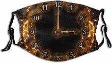 Cool Time Machine Clock Half Face Mouth COV-ER