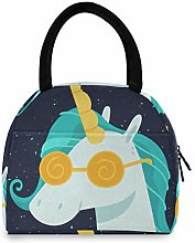 Cool Unicorn Women Tote Bag Lunch Bag Cooler Bag