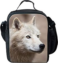 Cool Wolf Children Boys Lunch Boxes Bag Waterproof