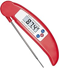 COOLEAD Food Thermometer, Foldable Digital Instant