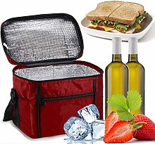 Cooler Bag, Sinwind Lunch Bag 10L Portable, Cool