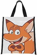 Cooler Bag Women Clver Smart Orange Fox Cute