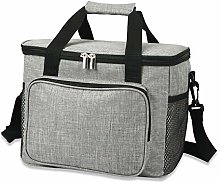 Cooler Bags, 15L Picnic Lunch Bag with Insulated