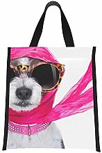 Cooler Bags for Women Fashionable Cool Scarf Dog