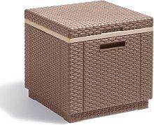 Cooler Box Ice Cube Cappuccino 223761 - Allibert