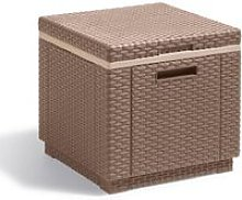 Cooler Box Ice Cube Cappuccino 223761 - Brown -